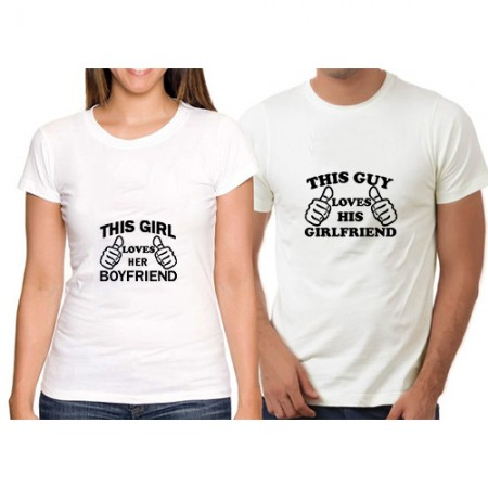 Giftsuncommon - Customized Couple T Shirt